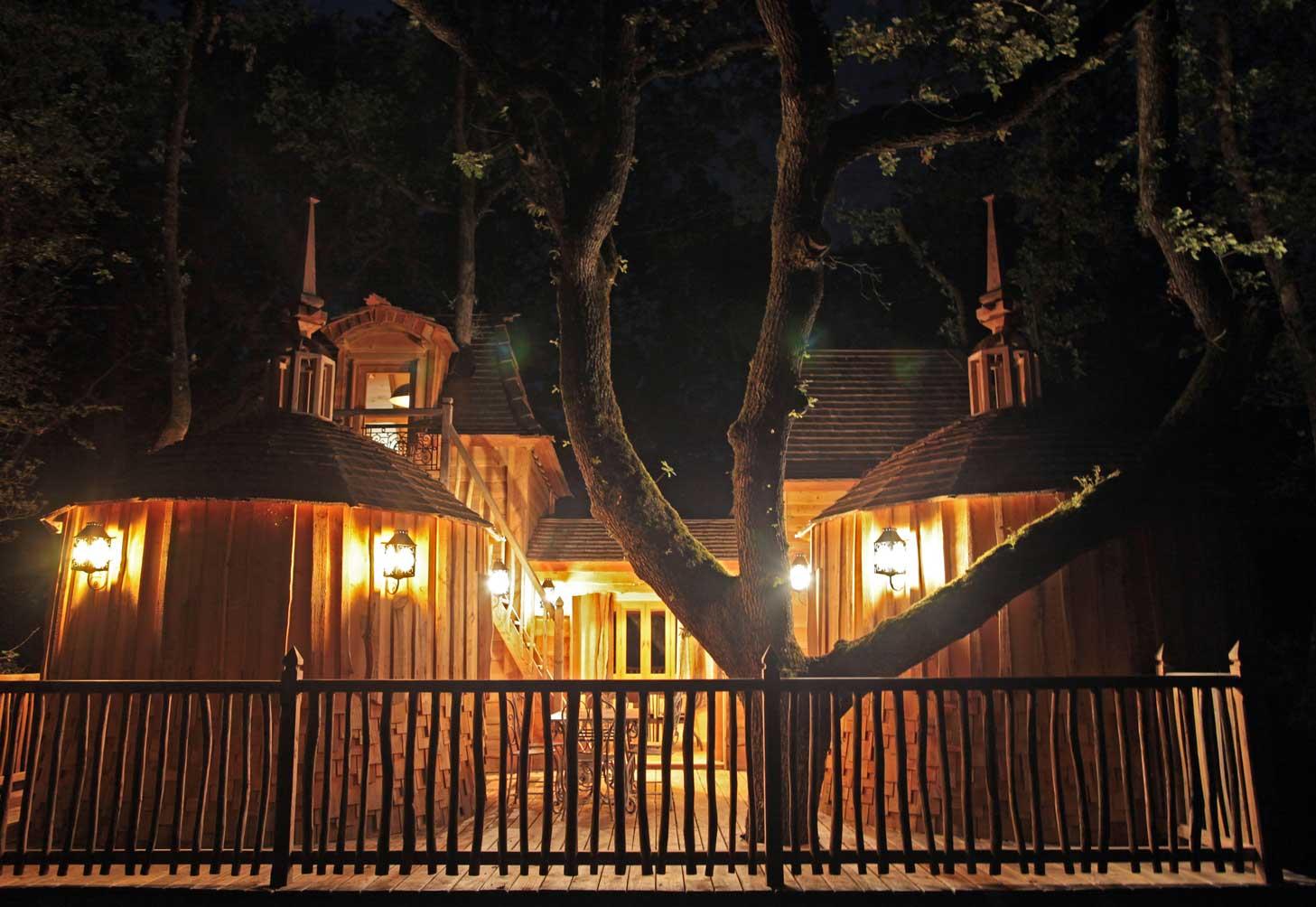 cabanes dans les arbres - dormir dans les arbres